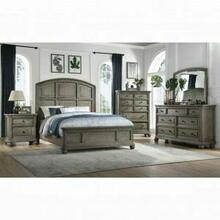 ACME Kiran Queen Bed - 22070Q - Gray