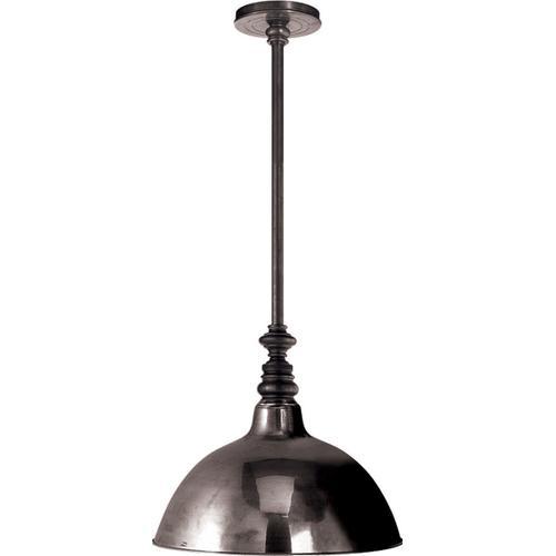 E. F. Chapman Boston 1 Light 13 inch Bronze Pendant Ceiling Light