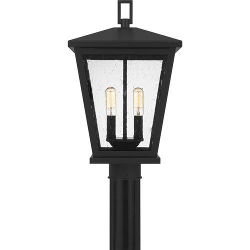 Quoizel - Joffrey Outdoor Lantern in Matte Black