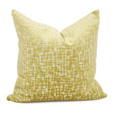 """Product Image - 20"""" x 20"""" Pillow Crevasse Citron - Down Fill"""