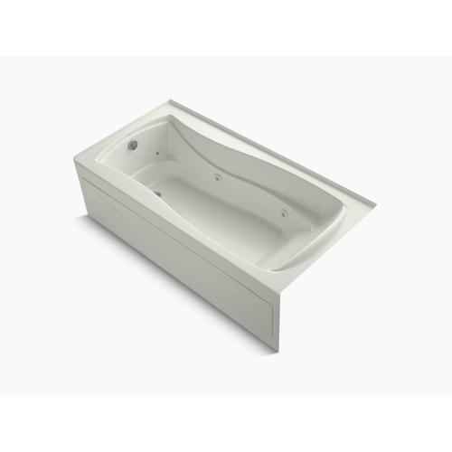 "Dune 72"" X 36"" Alcove Whirlpool Bath With Bask Heated Surface, Integral Apron, and Left-hand Drain"