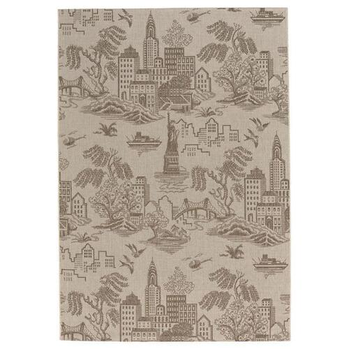 Finesse-NY Toile Barley Machine Woven Rugs