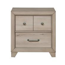 See Details - Youth Two Drawer Nightstand with USB in Brown