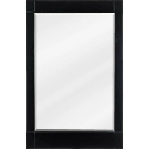 """28"""" x 34"""" Espresso mirror with beveled glass"""