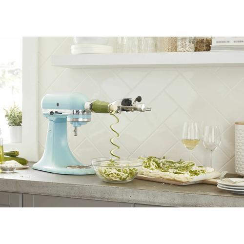 Gallery - Deluxe 4.5 Quart Tilt-Head Stand Mixer - Mineral Water Blue