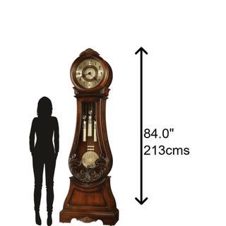 See Details - Howard Miller Diana Grandfather Clock 611082