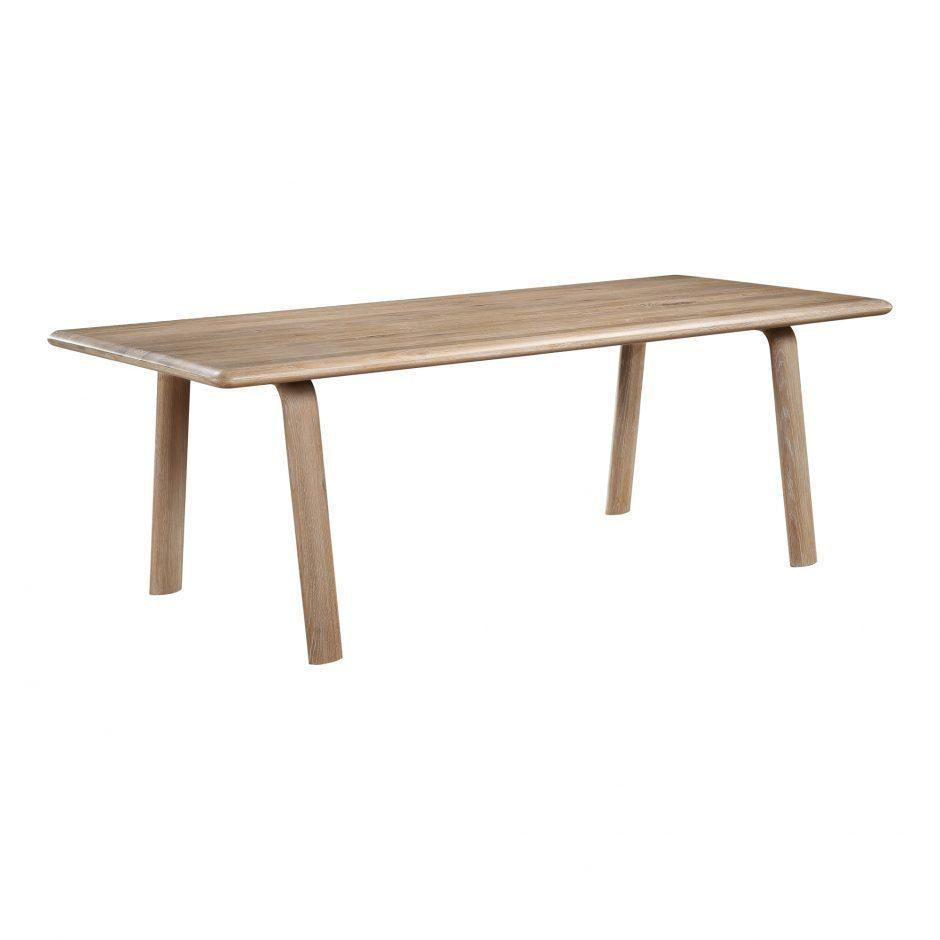 Malibu Dining Table White Oak
