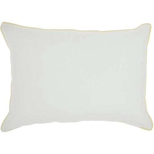 """Plushlines Ch421 Multicolor 14"""" X 20"""" Throw Pillow"""