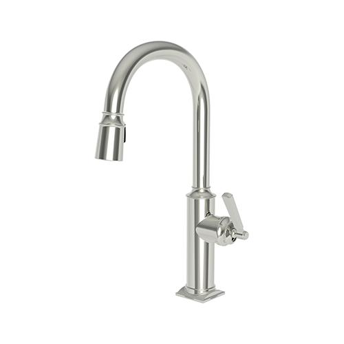 Newport Brass - Polished Nickel - Natural Pull-down Kitchen Faucet