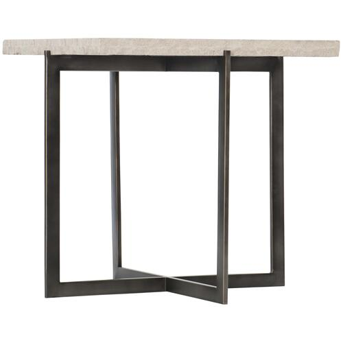 Hathaway Metal End Table