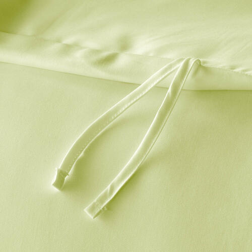 Rayon From Bamboo Duvet Set Oversized Queen Ivory