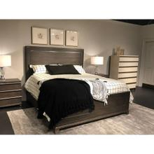 Horizon Panel Bed - Flannel / Queen