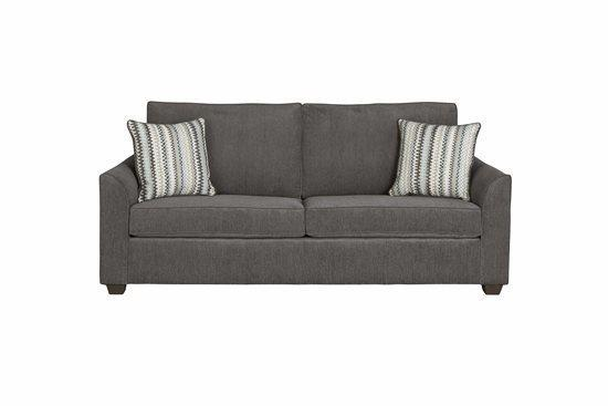 Sofa - Shown in 112-17 Charcoal Chenille Finish