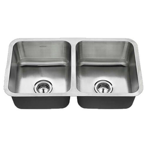 American Standard - American Standard Undermount 32x18 Double Bowl Sink - Stainless Steel