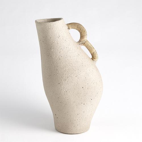 See Details - Leaning Vase-Sandstone