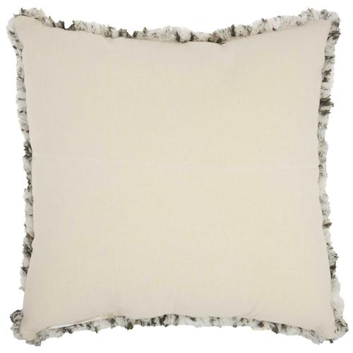 """Life Styles Dl902 Charcoal 24"""" X 24"""" Throw Pillow"""