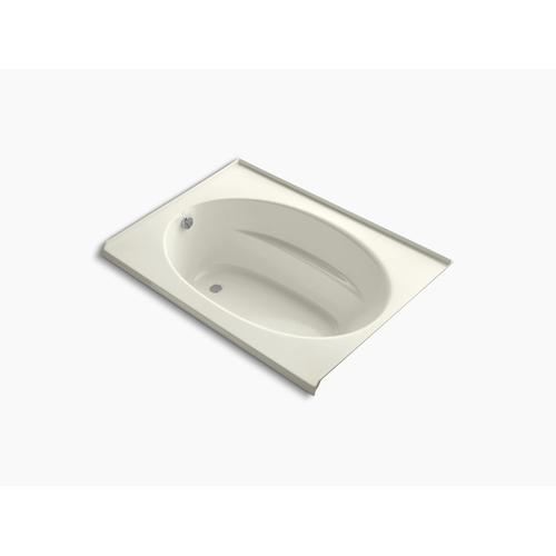 """Biscuit 60"""" X 42"""" Alcove Bath With Integral Flange and Left-hand Drain"""