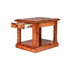 Forest Designs Mission End Table: 21W X 20H X 24D - 20h