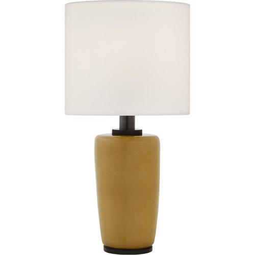 Barbara Barry Chado 31 inch 100 watt Dark Moss Table Lamp Portable Light, Large