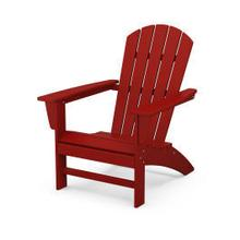View Product - Nautical Adirondack Chair in Crimson Red