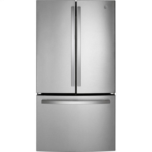 GE ®ENERGY STAR® 27.0 Cu. Ft. Fingerprint Resistant French-Door Refrigerator