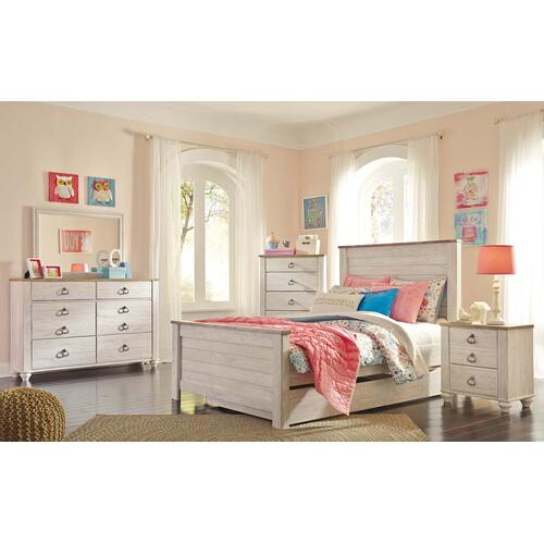 B267 Dresser & Mirror Set (Willowton)