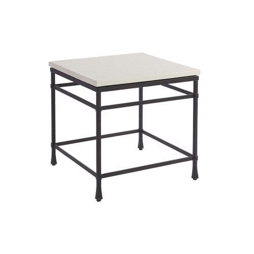 Lexington Furniture - Breakwater Metal And Stone Lamp Table