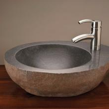 See Details - Natural Vessel with faucet mount