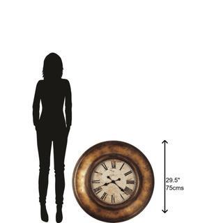 Howard Miller Copper Bay Oversized Wall Clock 625540