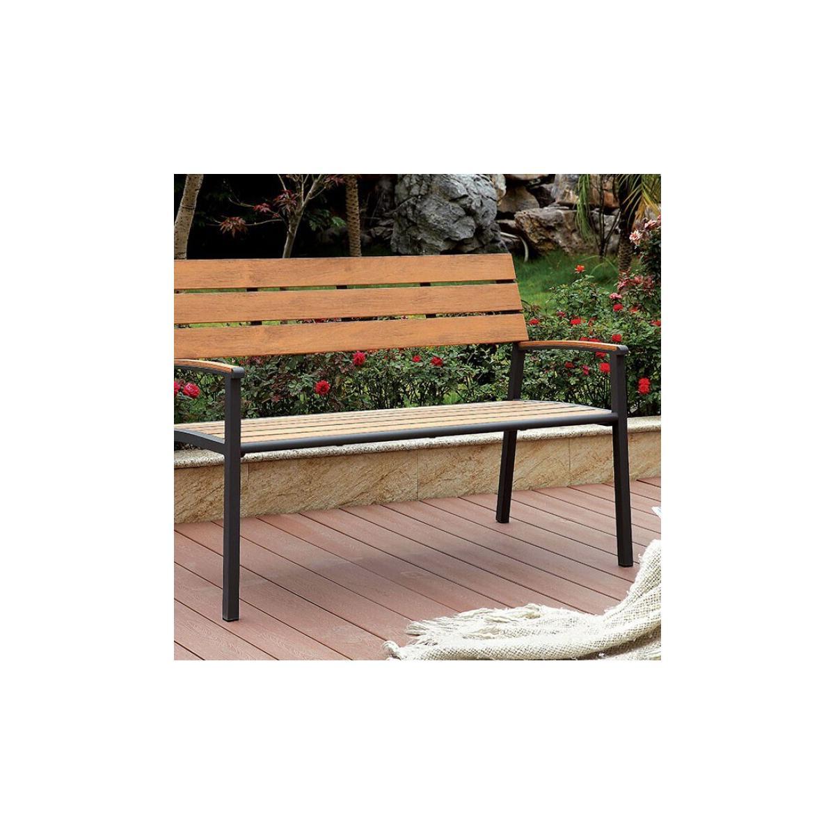See Details - Isha Patio Bench