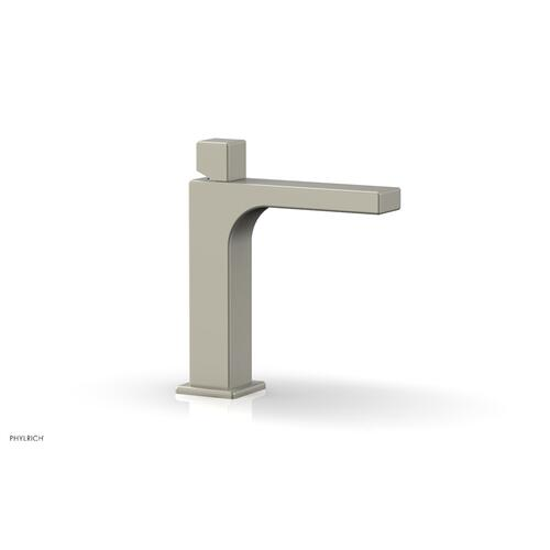 MIX Single Hole Lavatory Faucet, Cube Handle 290-08 - Burnished Nickel