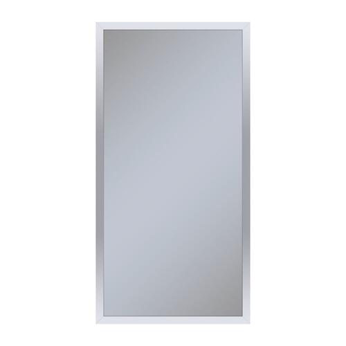 """Profiles 15-1/4"""" X 30"""" X 4"""" Framed Cabinet In Chrome and Non-electric With Reversible Hinge (non-handed)"""