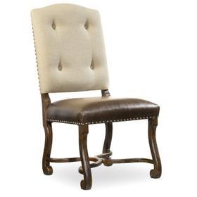 Dining Room Treviso Camelback Side Chair - 2 per carton/price ea