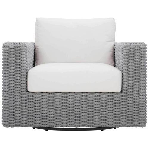 Product Image - Capri Swivel Chair in Rope in Gray Mist
