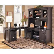 Carlyle - Black 5 Piece Home Office Set