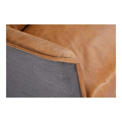 Moe's Home Collection - Messina Leather Sofa Cognac