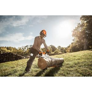 Gallery - Innovative and surprisingly powerful STIHL Lithium-Ion battery-powered chainsaw.