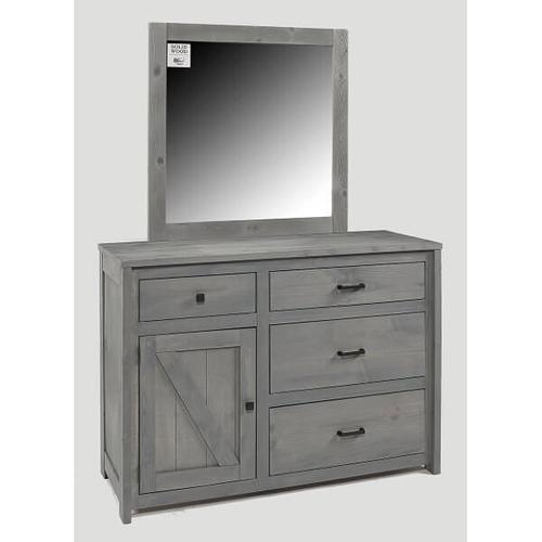 Urban Ranch Roomsaver Storage Bed Gray