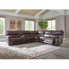 Muirfield - Mahogany 3 Piece LAF Sectional