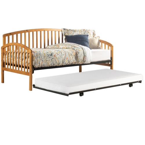 Carolina Complete Twin Size Daybed With Trundle, Country Pine