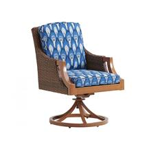 Swivel Rocker Arm Dining Chair