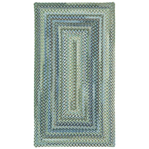 Homecoming Sky Blue Braided Rugs (Custom)