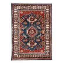 Landis-Kazak Century Blue Machine Tufted Rugs