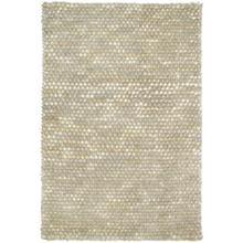 See Details - Pebble Shag Ivory Flurry 4x6