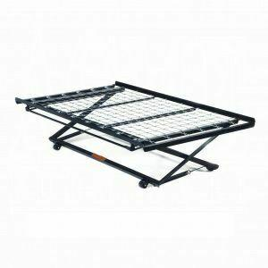 ACME Frame Twin Pop-Up Trundle Bed Frame w/Link Spring - 02506 - Metal