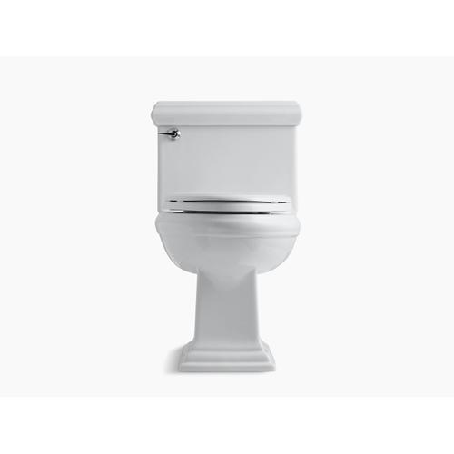 White One-piece Compact Elongated 1.28 Gpf Chair Height Toilet With Slow Close Seat