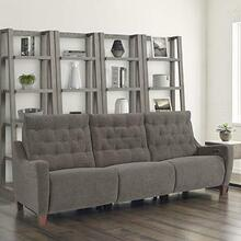 See Details - CHELSEA - WILLOW BROWN Power Triple Reclining Sofa (811LP, 810P, 811RP)