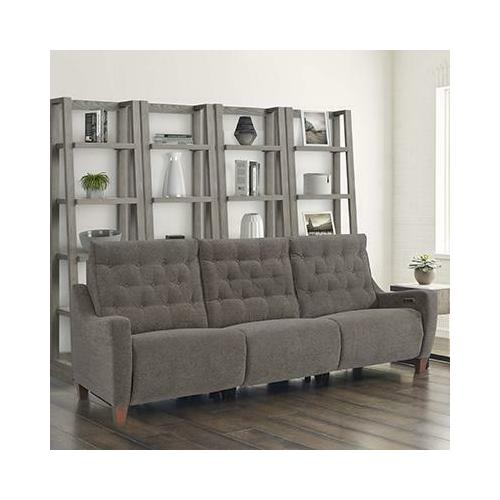 Parker House - CHELSEA - WILLOW BROWN Power Triple Reclining Sofa (811LP, 810P, 811RP)
