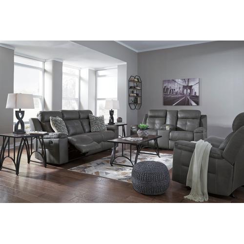 Jesolo Reclining Sofa Dark Grey