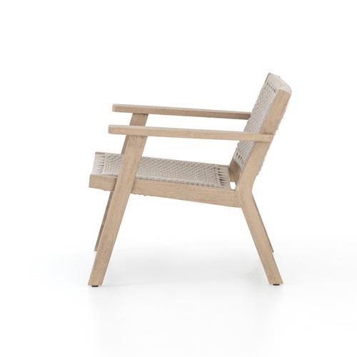 Chair Configuration Brown Cover Delano Chair + Ottoman